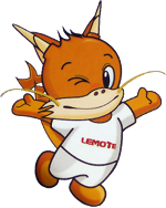 Lemote YeeLoong dragon mascot